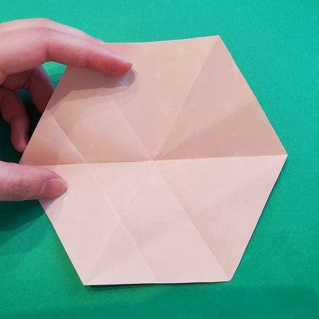 ぷくぷく星の折り紙 星型の箱の折り方作り方②完成(3)