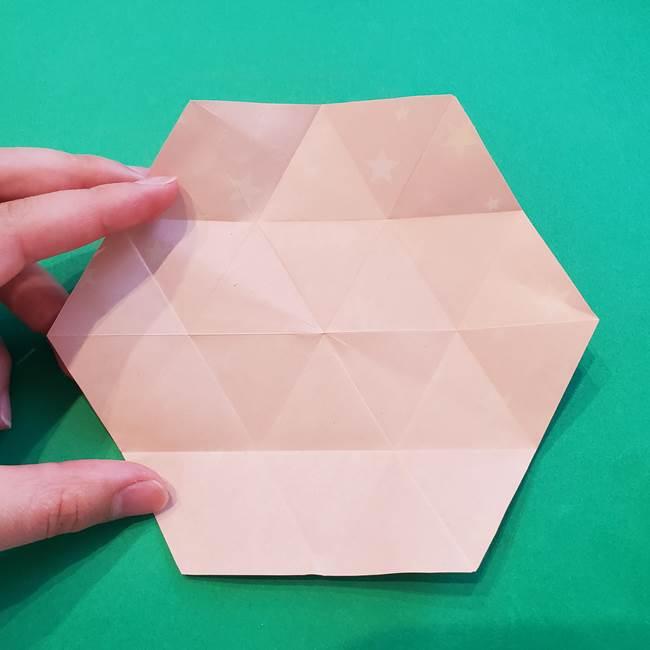 ぷくぷく星の折り紙 星型の箱の折り方作り方②完成(4)