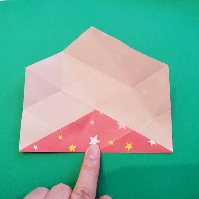 ぷくぷく星の折り紙 星型の箱の折り方作り方②完成(5)