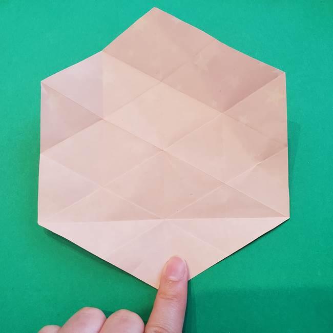 ぷくぷく星の折り紙 星型の箱の折り方作り方②完成(6)