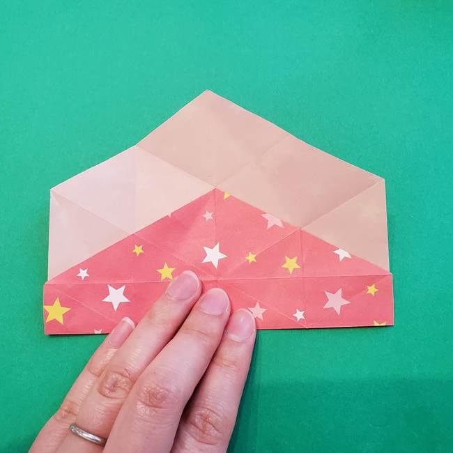 ぷくぷく星の折り紙 星型の箱の折り方作り方②完成(7)