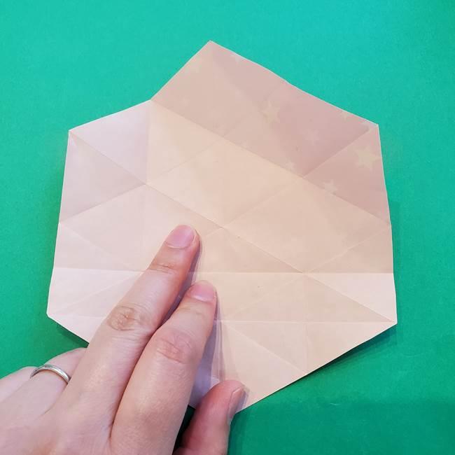 ぷくぷく星の折り紙 星型の箱の折り方作り方②完成(8)