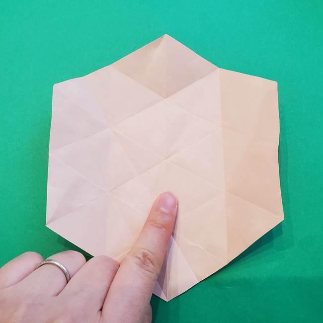 ぷくぷく星の折り紙 星型の箱の折り方作り方②完成(9)