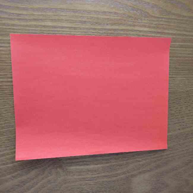 キティちゃんのリボンの折り紙で必要なもの