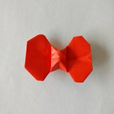 キティちゃんのリボン 折り紙の折り方作り方☆手作りで簡単かわいい小物作り♪