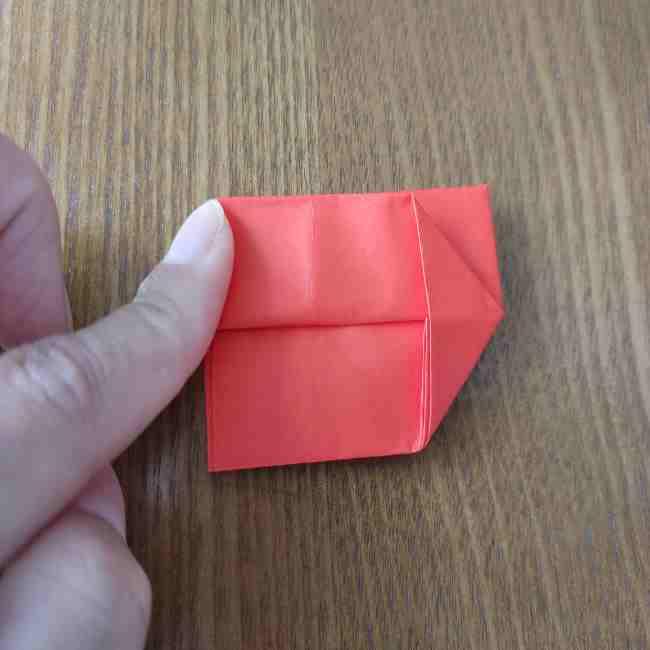 キティちゃんのリボン 折り紙の折り方作り方 (10)