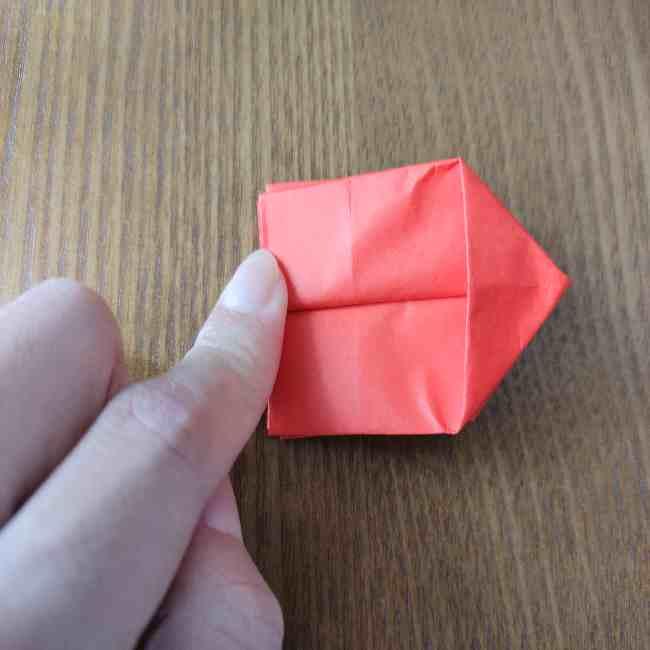 キティちゃんのリボン 折り紙の折り方作り方 (11)