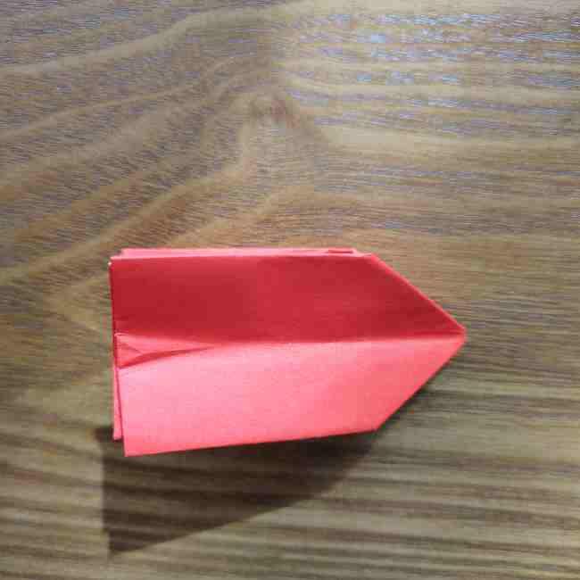 キティちゃんのリボン 折り紙の折り方作り方 (12)