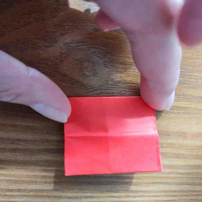 キティちゃんのリボン 折り紙の折り方作り方 (13)