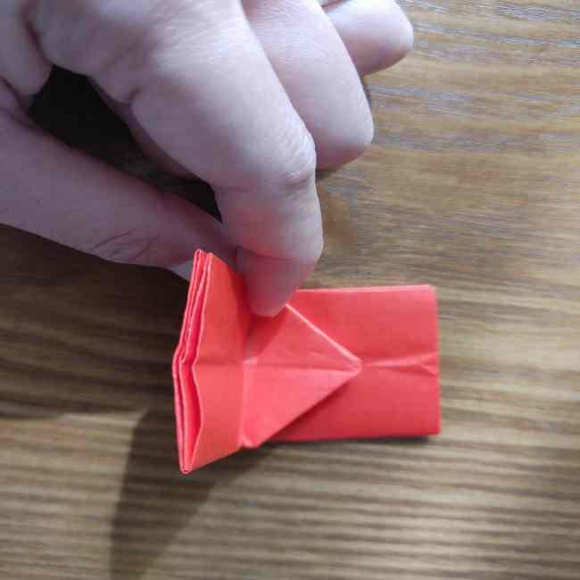 キティちゃんのリボン 折り紙の折り方作り方 (14)