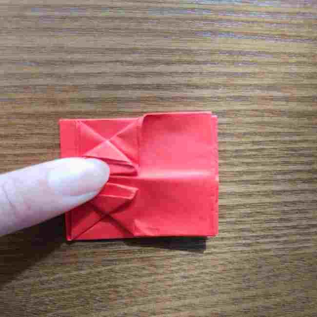 キティちゃんのリボン 折り紙の折り方作り方 (15)
