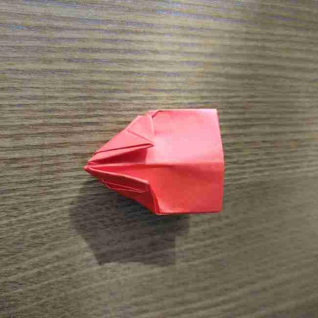 キティちゃんのリボン 折り紙の折り方作り方 (16)