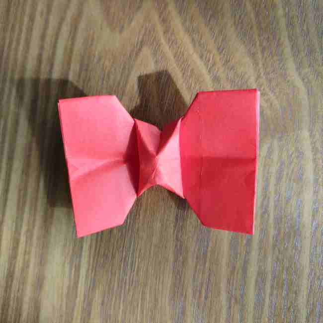 キティちゃんのリボン 折り紙の折り方作り方 (17)