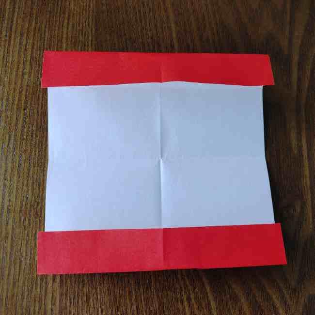キティちゃんのリボン 折り紙の折り方作り方 (5)