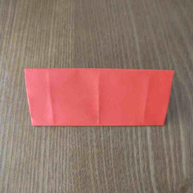 キティちゃんのリボン 折り紙の折り方作り方 (7)