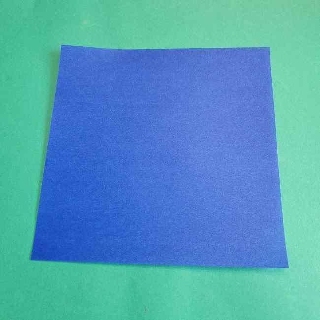 キティちゃんの全身(顔・体)の折り方作り方 (1)