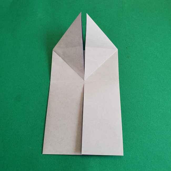 キティちゃんの全身(顔・体)の折り方作り方 (10)