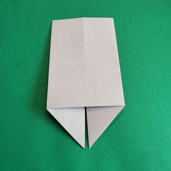 キティちゃんの全身(顔・体)の折り方作り方 (11)