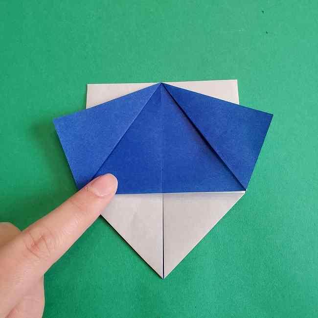 キティちゃんの全身(顔・体)の折り方作り方 (13)