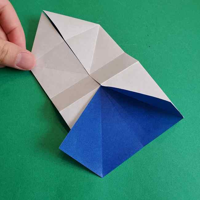キティちゃんの全身(顔・体)の折り方作り方 (14)