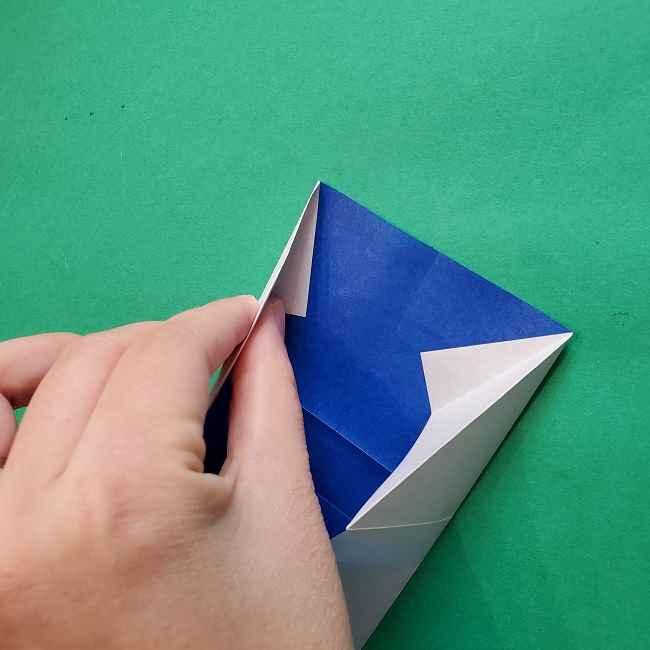 キティちゃんの全身(顔・体)の折り方作り方 (15)
