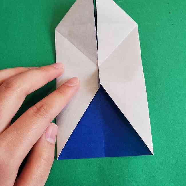 キティちゃんの全身(顔・体)の折り方作り方 (16)
