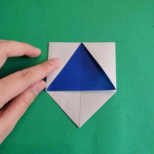 キティちゃんの全身(顔・体)の折り方作り方 (17)