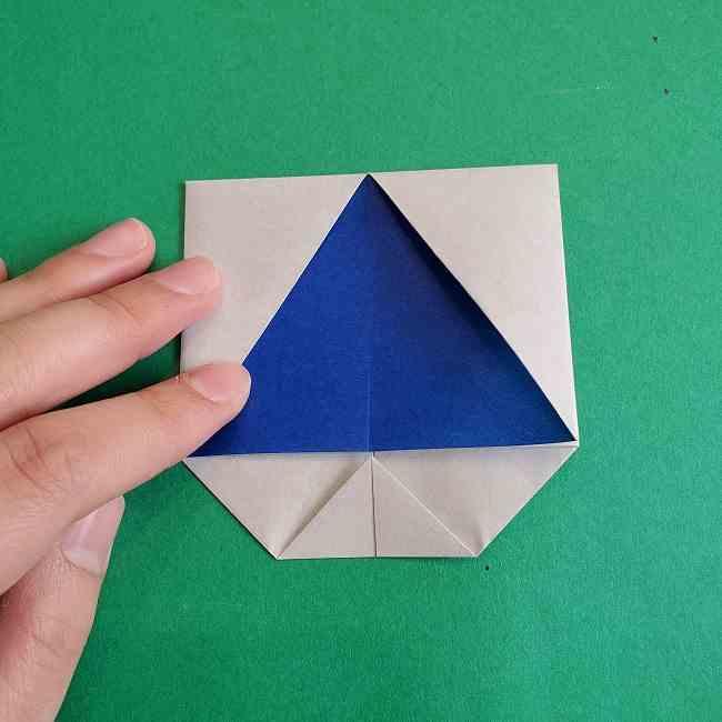 キティちゃんの全身(顔・体)の折り方作り方 (18)