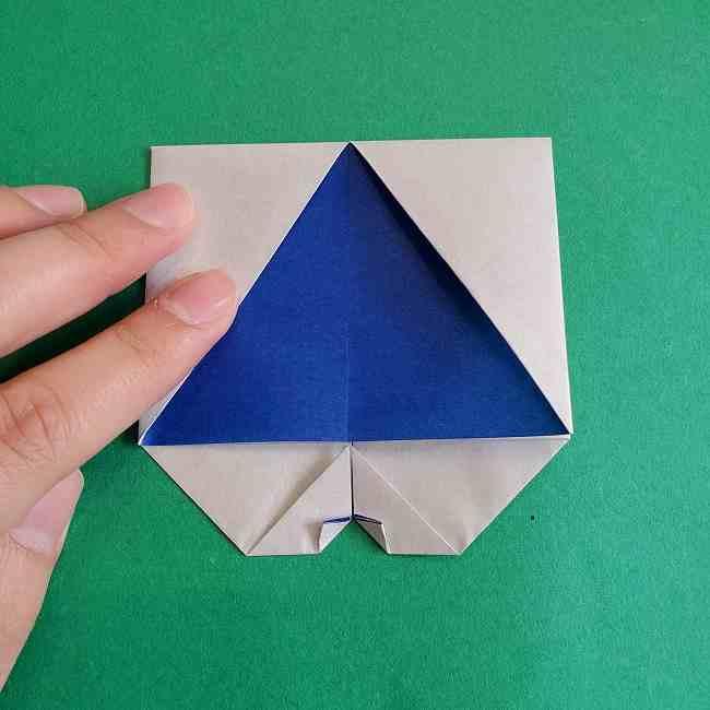 キティちゃんの全身(顔・体)の折り方作り方 (19)