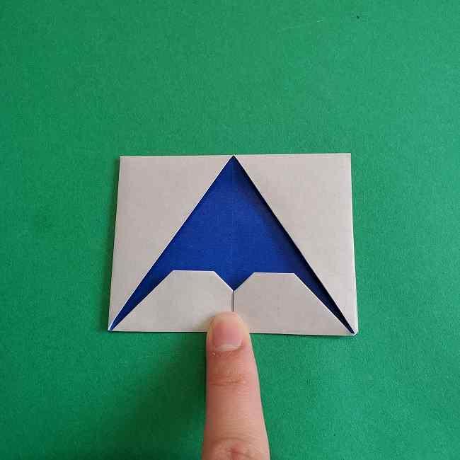 キティちゃんの全身(顔・体)の折り方作り方 (20)