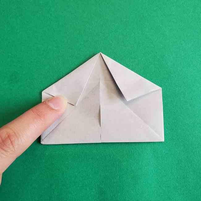 キティちゃんの全身(顔・体)の折り方作り方 (22)