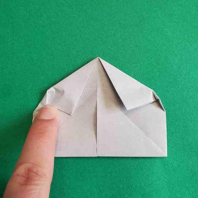 キティちゃんの全身(顔・体)の折り方作り方 (23)