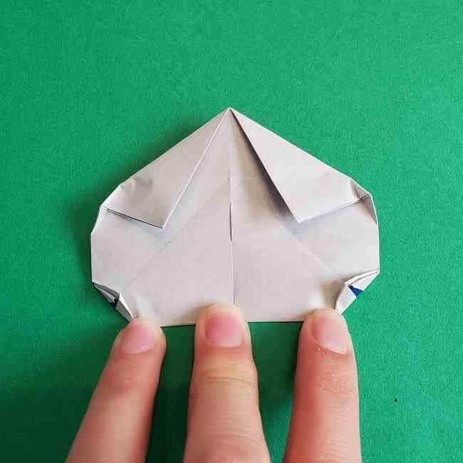 キティちゃんの全身(顔・体)の折り方作り方 (24)