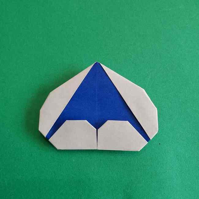 キティちゃんの全身(顔・体)の折り方作り方 (25)