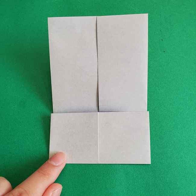 キティちゃんの全身(顔・体)の折り方作り方 (7)