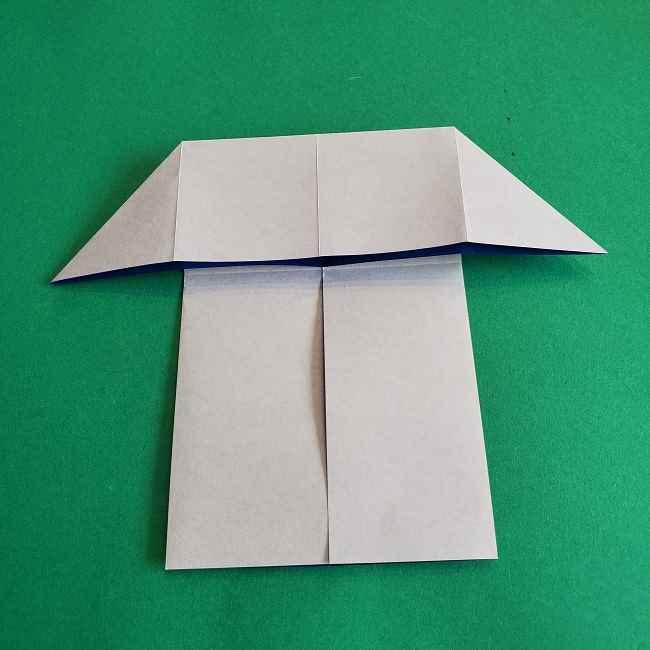キティちゃんの全身(顔・体)の折り方作り方 (9)