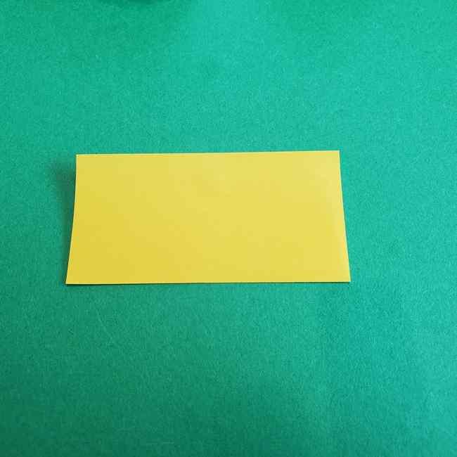 サンリオ キティのパパとママの折り紙*折り方作り方②ママの帽子 (2)