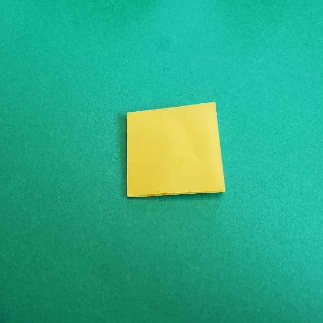 サンリオ キティのパパとママの折り紙*折り方作り方②ママの帽子 (3)