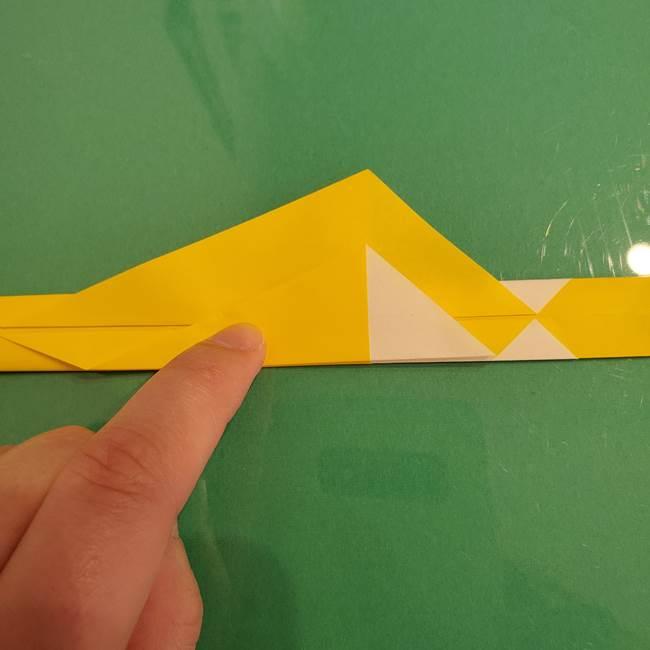 ザシアンの折り紙の折り方★剣(11)
