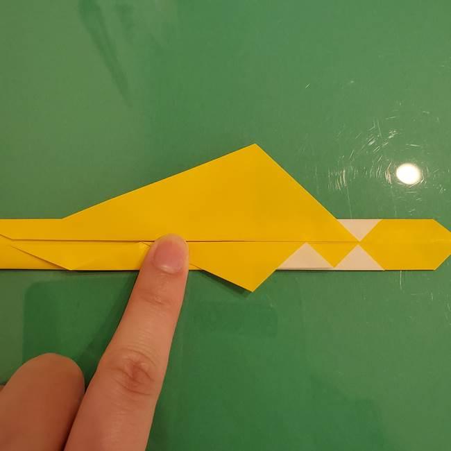 ザシアンの折り紙の折り方★剣(12)