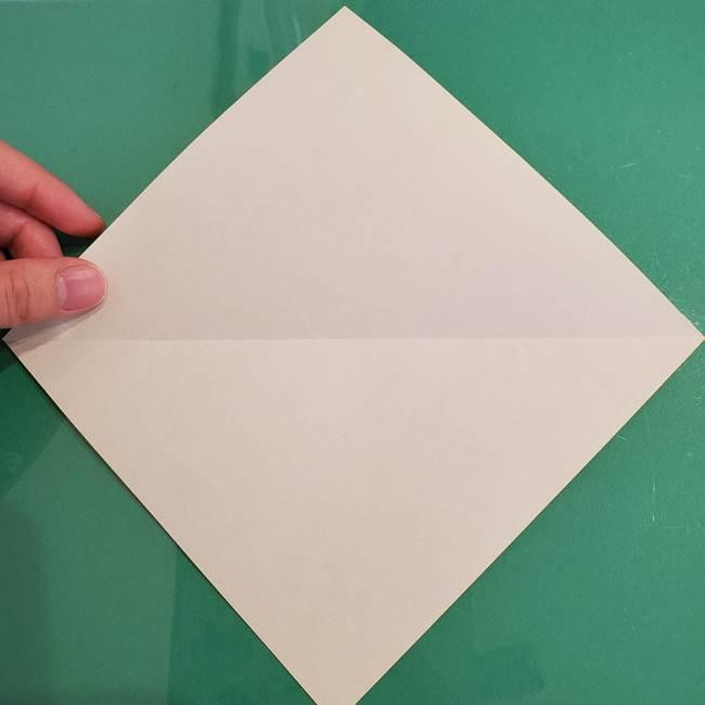 ザシアンの折り紙の折り方★剣(3)