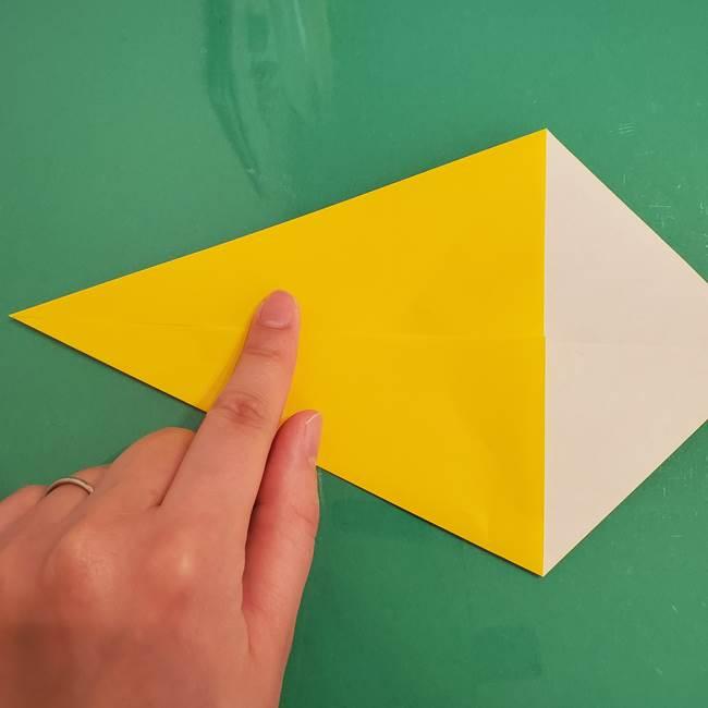 ザシアンの折り紙の折り方★剣(4)