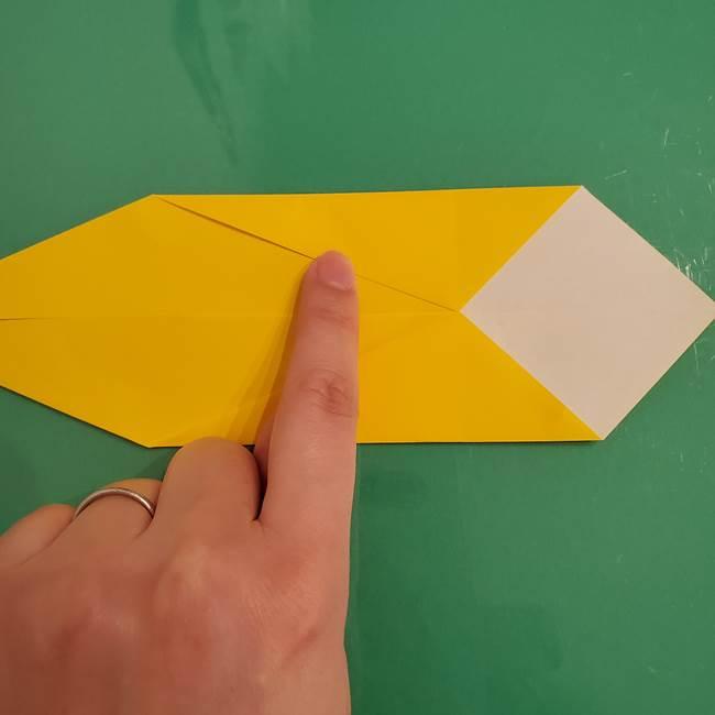 ザシアンの折り紙の折り方★剣(5)