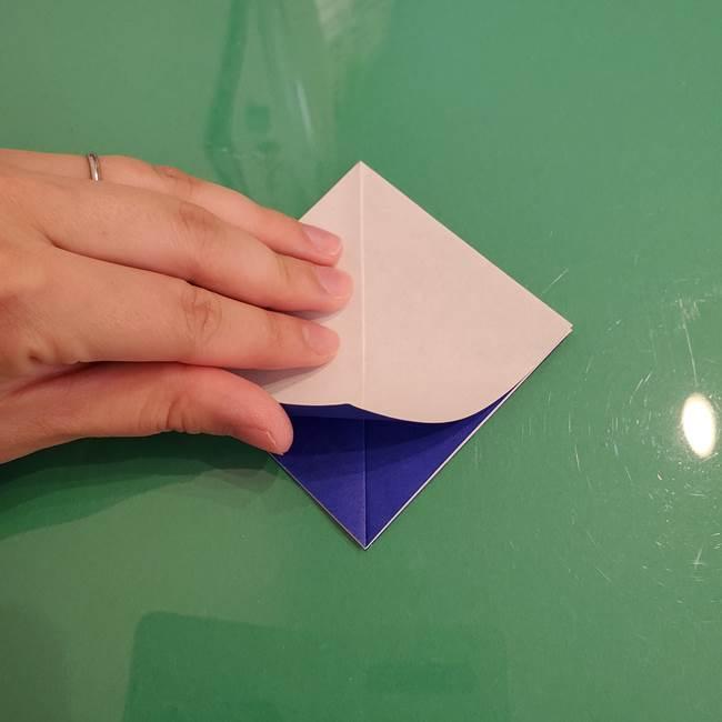 ザシアンの折り紙の折り方★顔パーツ①(10)