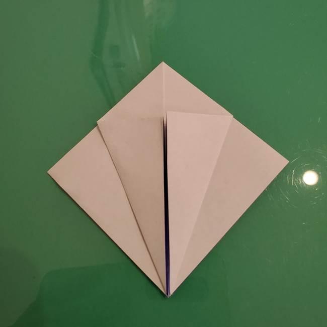 ザシアンの折り紙の折り方★顔パーツ①(11)