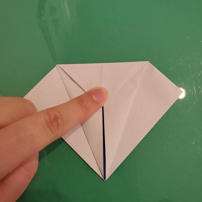 ザシアンの折り紙の折り方★顔パーツ①(12)