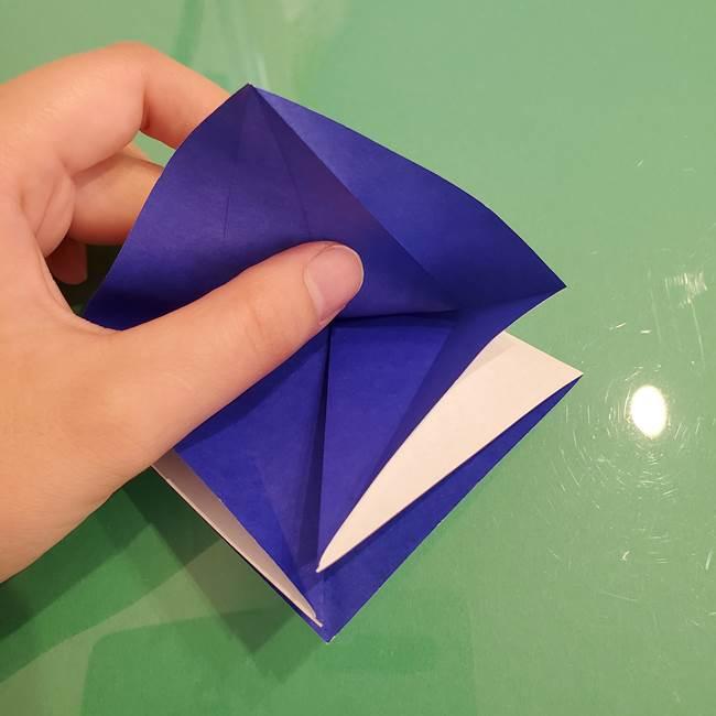 ザシアンの折り紙の折り方★顔パーツ①(14)