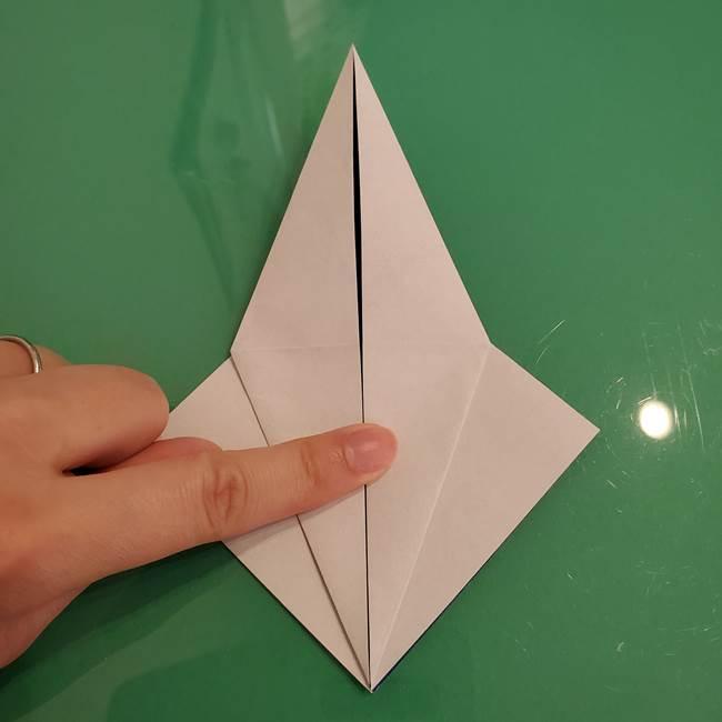 ザシアンの折り紙の折り方★顔パーツ①(16)
