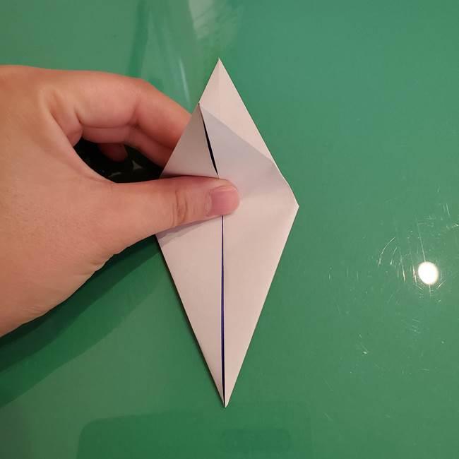 ザシアンの折り紙の折り方★顔パーツ①(19)