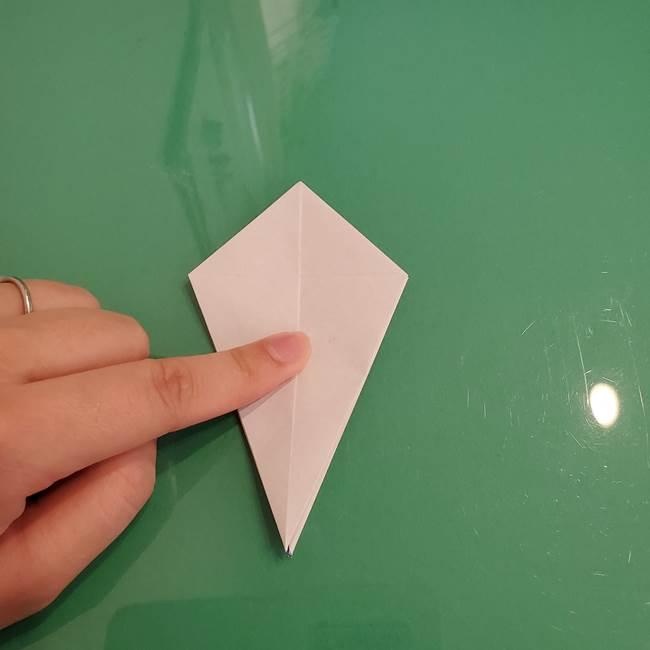 ザシアンの折り紙の折り方★顔パーツ①(21)